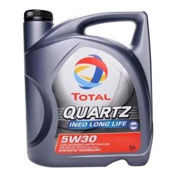 Моторное масло TOTAL QUARTZ INEO LONG LIFE, 5W-30, 5л, 181712