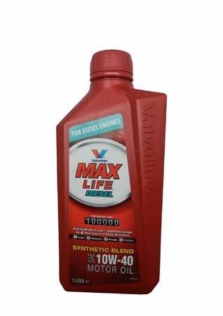 Моторное масло VALVOLINE Maxlife Diesel SAE 10W-40 (1л)