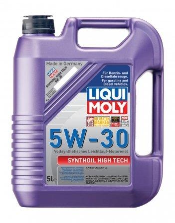 Синтетическое моторное масло LIQUI MOLY Synthoil High Tech 5W-30 (5л.)