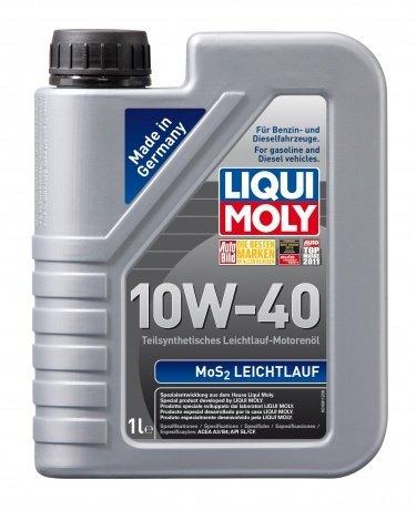 Полусинтетическое моторное масло LIQUI MOLY MoS2 Leichtlauf 10W-40 (1л.)