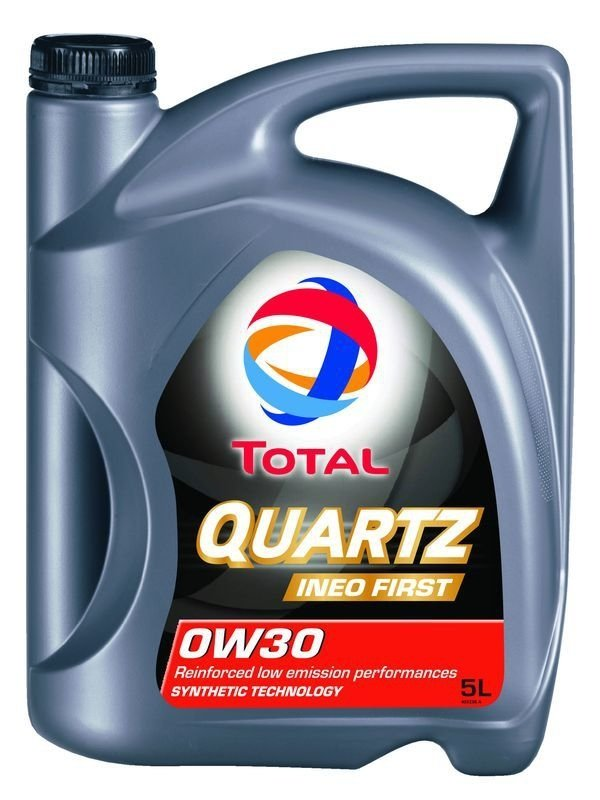 Моторное масло TOTAL Quartz Ineo First, 0W-30, 4л, 183175