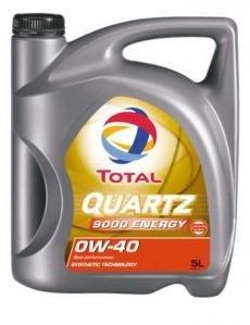 Моторное масло TOTAL QUARTZ 9000 ENERGY, 0W-40, 5л, 195283