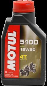 Моторное масло MOTUL 5100 ESTER 4T, 15W-50, 1л, 102779