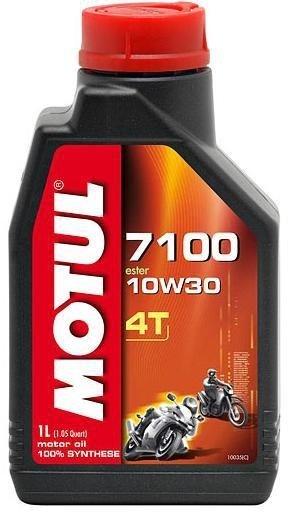 Моторное масло MOTUL 7100 4T, 10W-30, 1л, 102060