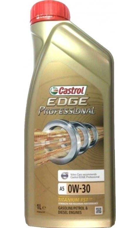 Моторное масло CASTROL EDGE Professional A5 Volvo Titanium FST, 0W-30, 1л,  4673380060