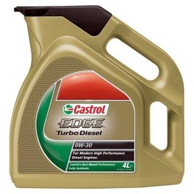 Моторное масло CASTROL EDGE Turbo Diesel, 0W-30, 4л, 4637480090