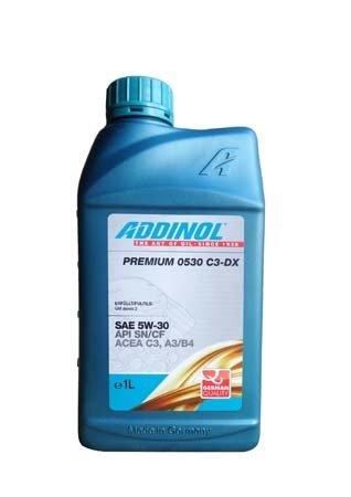 Моторное масло ADDINOL Premium 0530 C3-DX SAE 5E-30 (1л)
