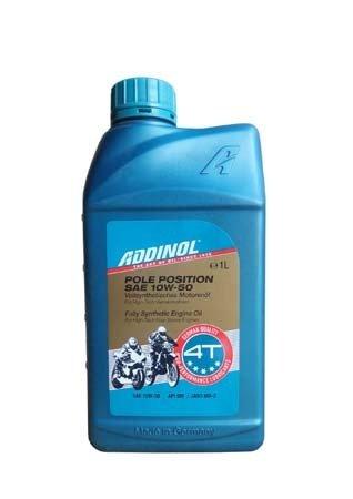Моторное масло ADDINOL Pole Position SAE 10W-50 (1л)