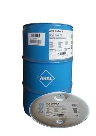 Моторное масло ARAL Turboral SAE 10W-40 (60л)