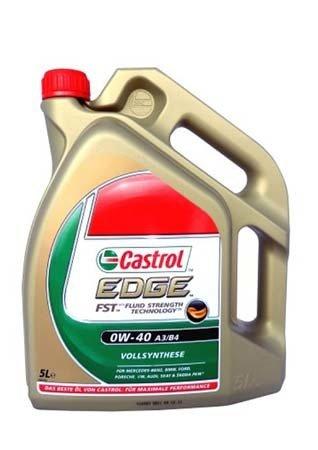 Castrol 0W40 (5L) EDGE FST масло мотор