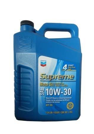 Моторное масло CHEVRON Supreme Motor Oil SAE 10W-30 (3,785л)
