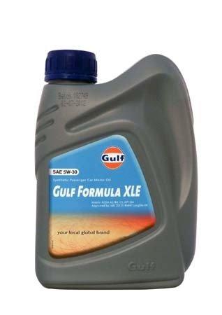 Моторное масло GULF Formula XLE SAE 5W-30 (1л)