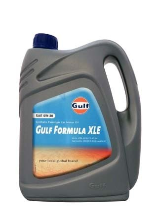 Моторное масло GULF Formula XLE SAE 5W-30 (4л)