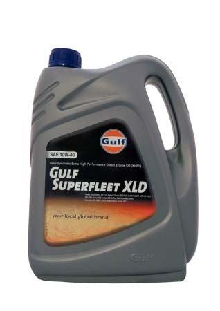 Моторное масло GULF Superfleet XLD SAE 10W-40 (4л)