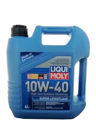 НС-синтетическое моторное масло LIQUI MOLY Super Leichtlauf 10W-40 (4л.)