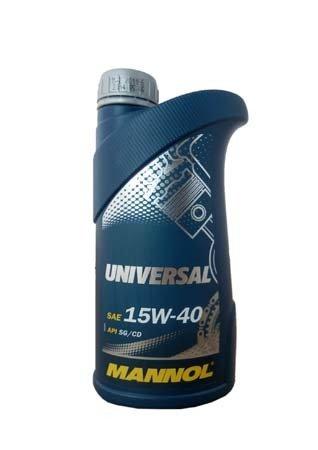Моторное масло MANNOL Universal SG/CD SAE 15W-40 (1л)