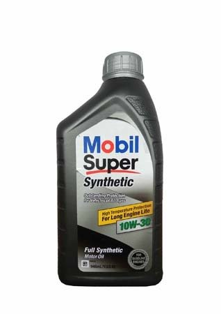 Моторное масло MOBIL Super Synthetic SAE 10W-30 (0,946л)