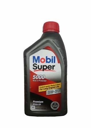 Моторное масло MOBIL Super 5000 SAE 5W-20 (0,946л)