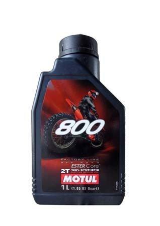 Моторное масло MOTUL 800 2T FACTORY LINE ROAD RACING, 1л, 104038