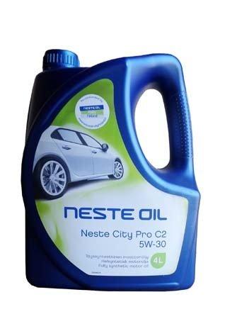 Моторное масло NESTE City Pro C2 SAE 5W-30 (4л)