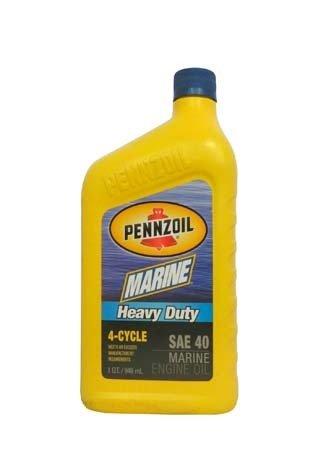 Моторное масло для 4-Такт лод. мот. PENNZOIL Marine Heavy Duty 4-Cycle SAE 40 (0,946л)