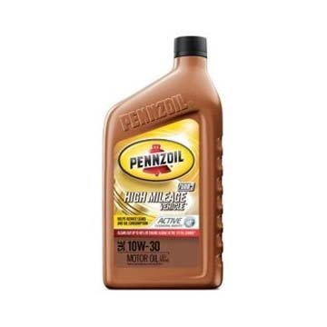 Моторное масло PENNZOIL High Mileage Vehicle SAE 10W-30 (0,946л)
