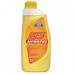 Антифриз AGA, желтый, 1л, готовый, AGA042Z