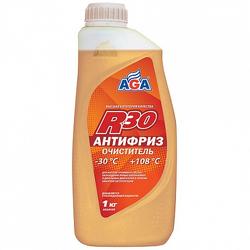 Антифриз AGA, бесцветный, 1л, готовый, AGA045R